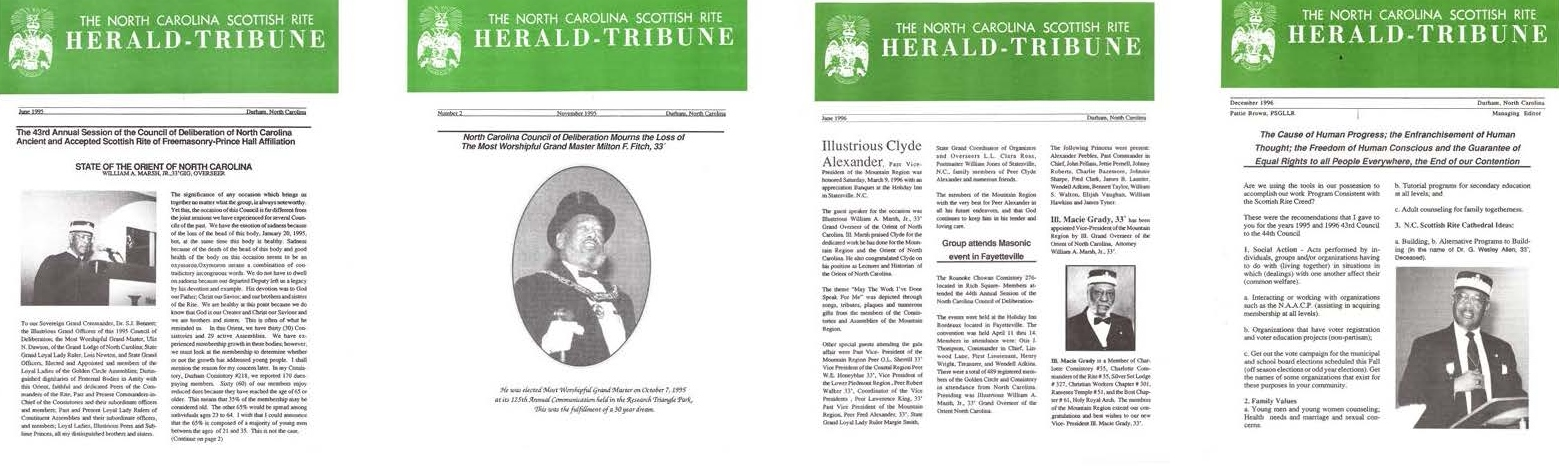 Herald Tribune set 3 of 4