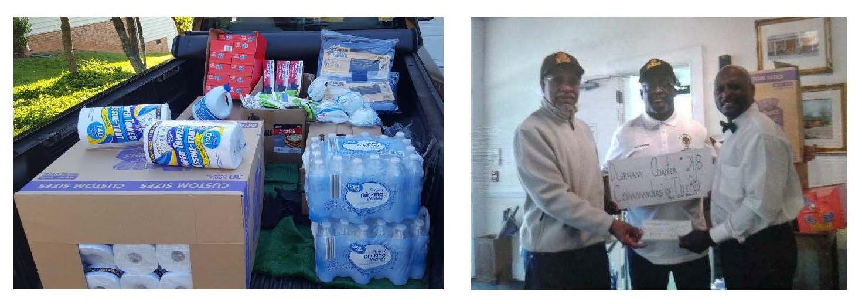 Orient donations for Greensboro 2